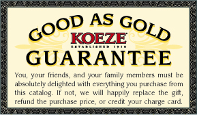 Good as Gold Guarantee
